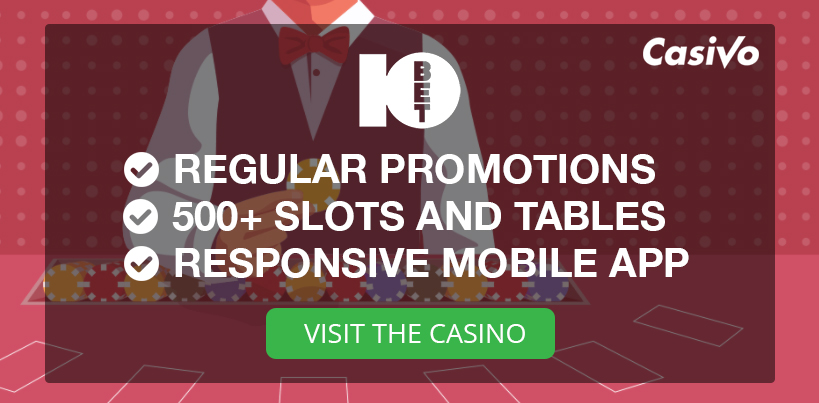 10bet Casino Review Casivo UK