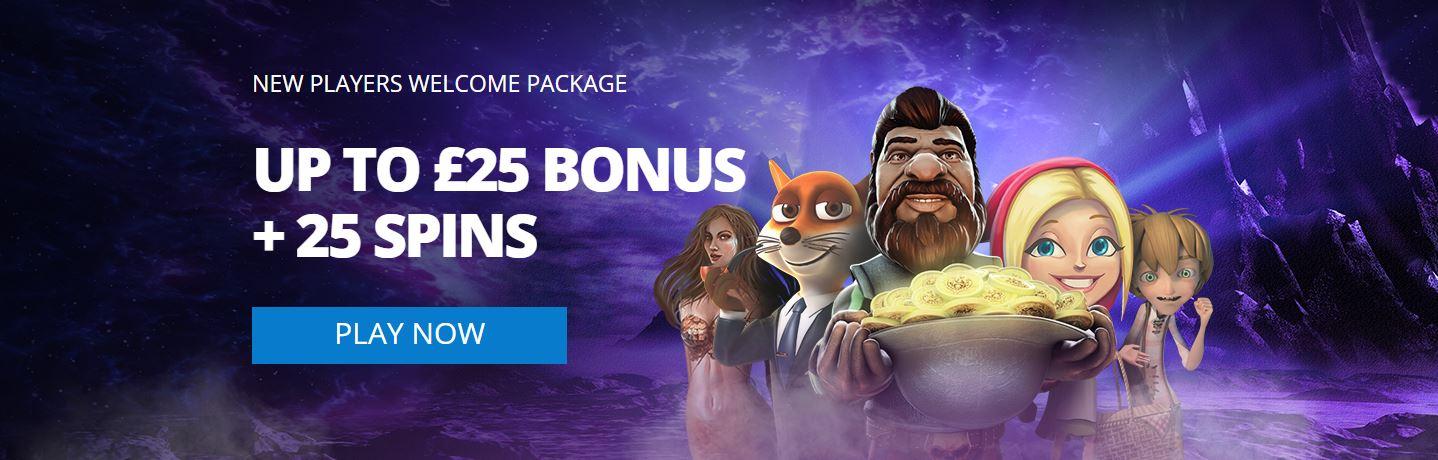 Heyspin welcome bonus