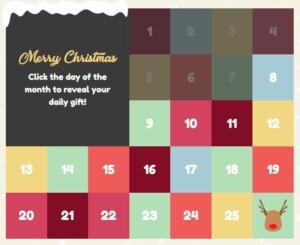 Pots of luck christmas calendar