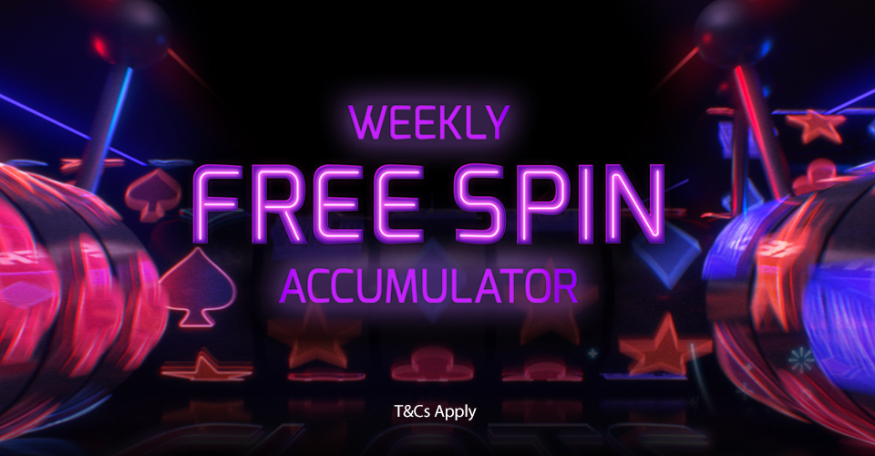 free spin accumulator betfred