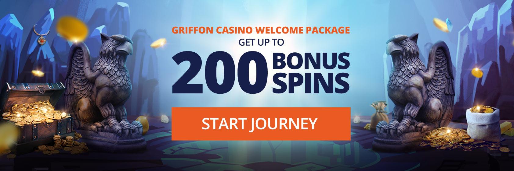 griffon casino welcome bonus