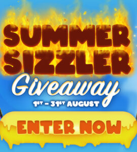 The Summer Sizzler Giveaway at Easy Slots