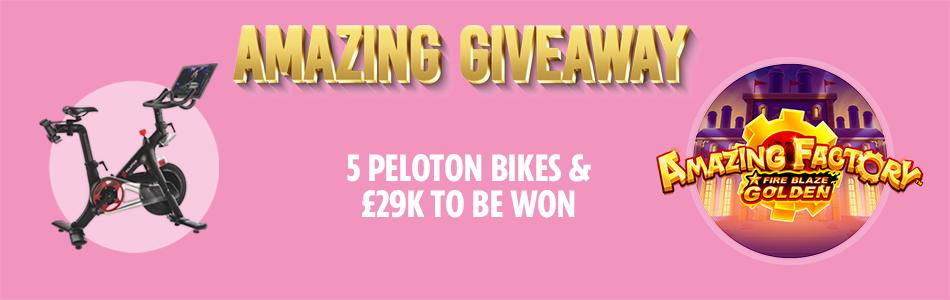 sun bingo peleton giveaway